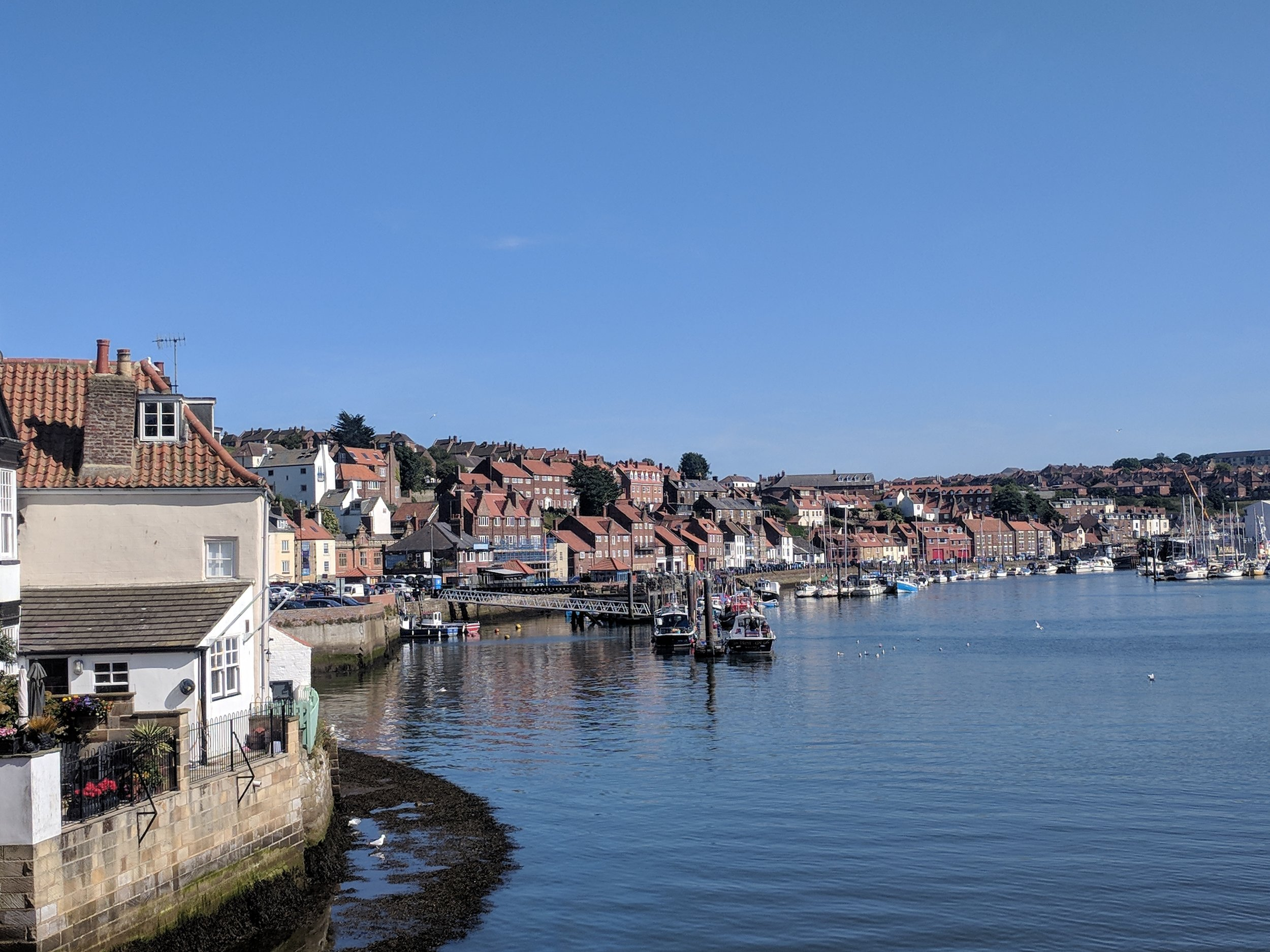 The stunning Yorkshire town of Whitby