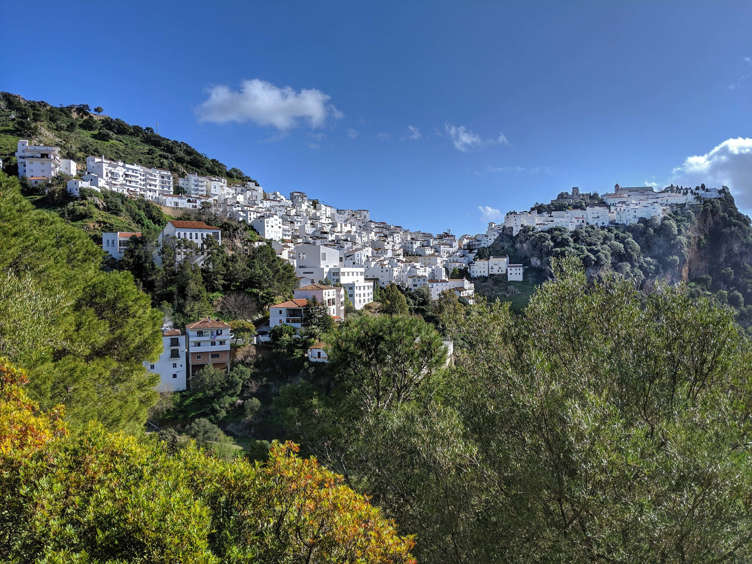 Beautiful white town of Andalucia