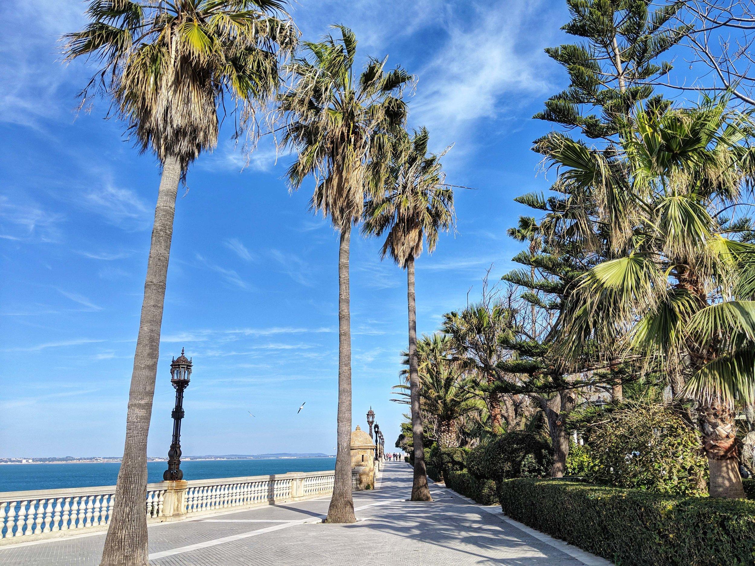The waterfront at Cadiz