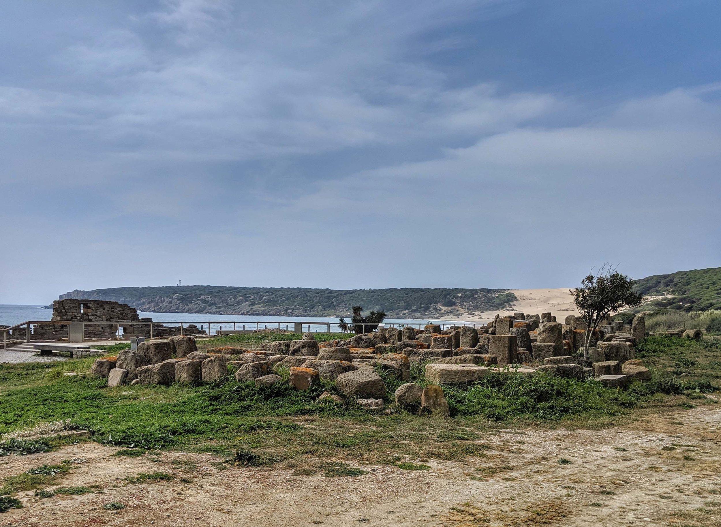 Oceanside setting for Baelo Caludia