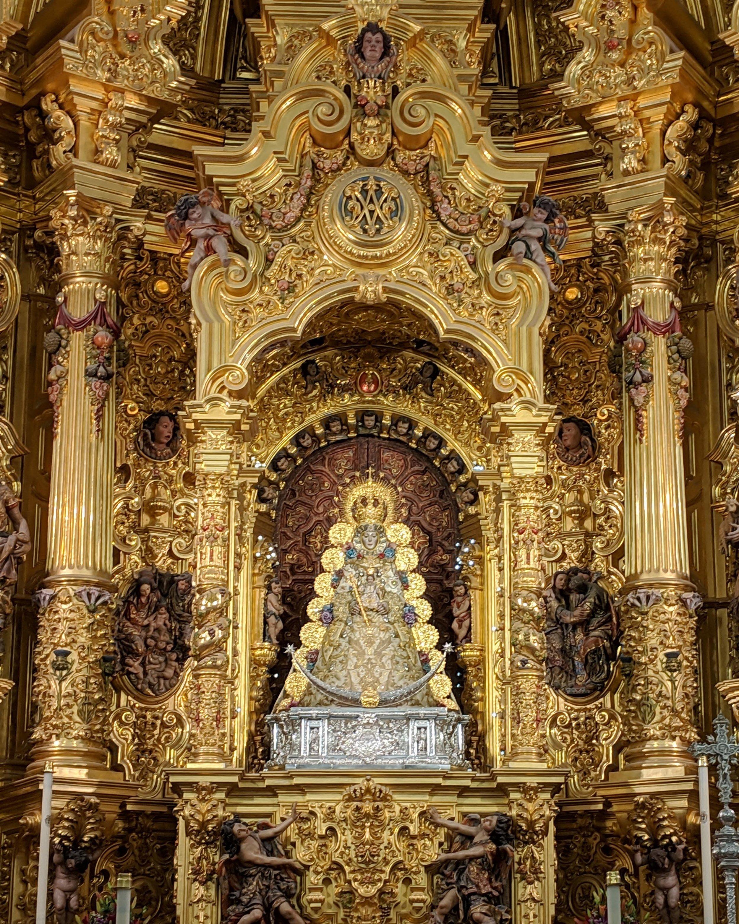 The Virgen del El Rocio