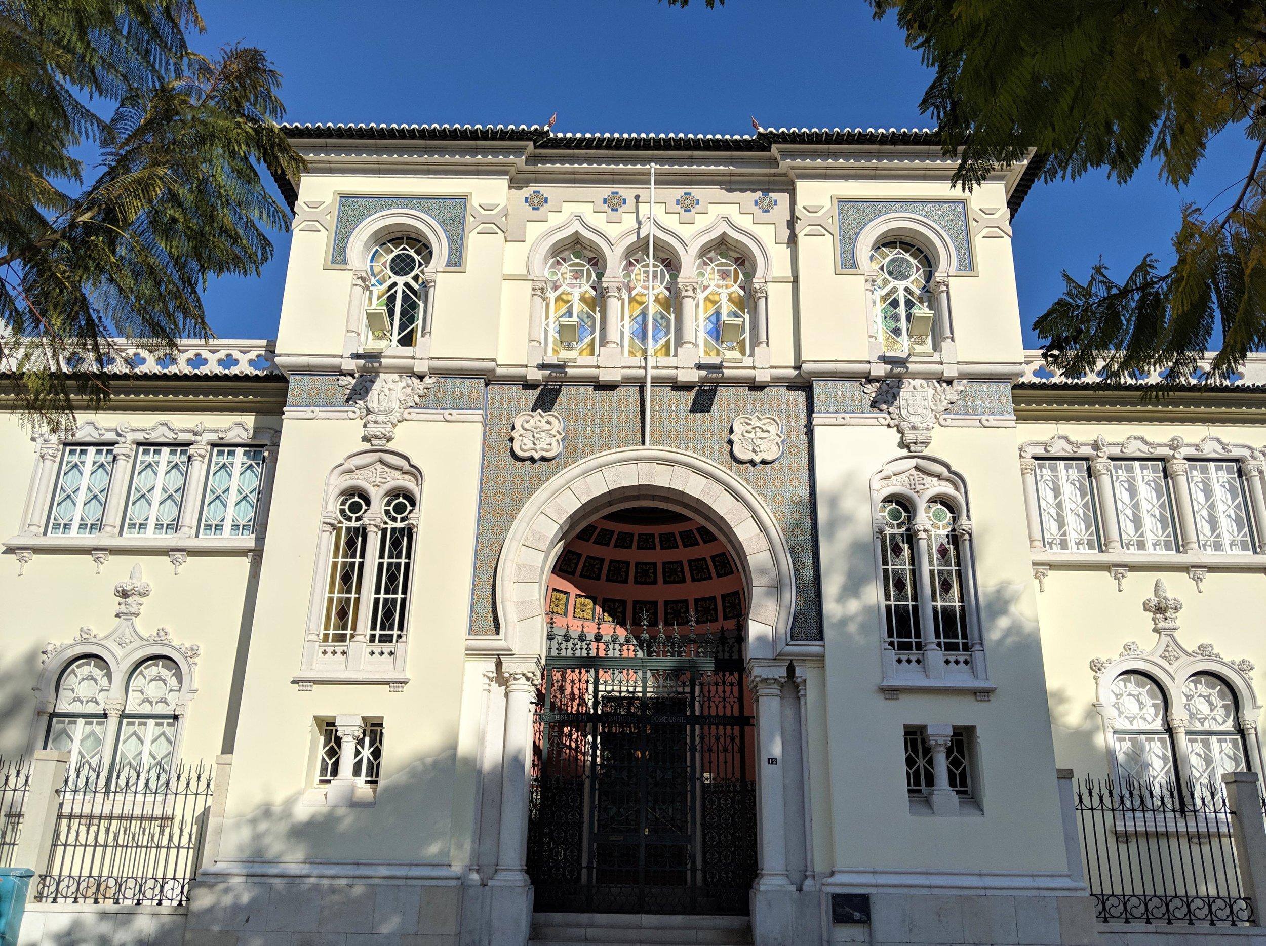 Beautiful building in Faro