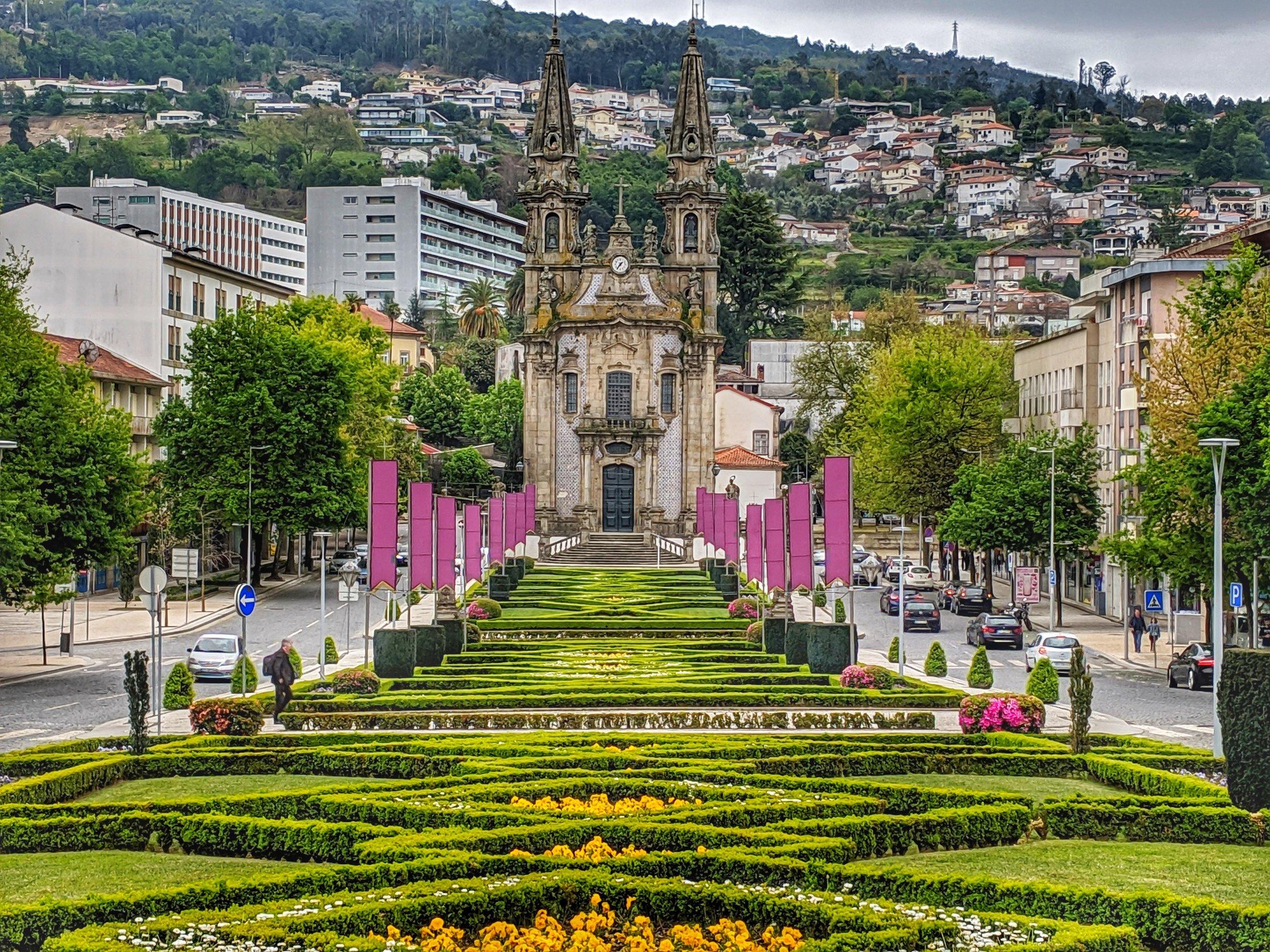 Beautiful Boulevard in Guimaraes