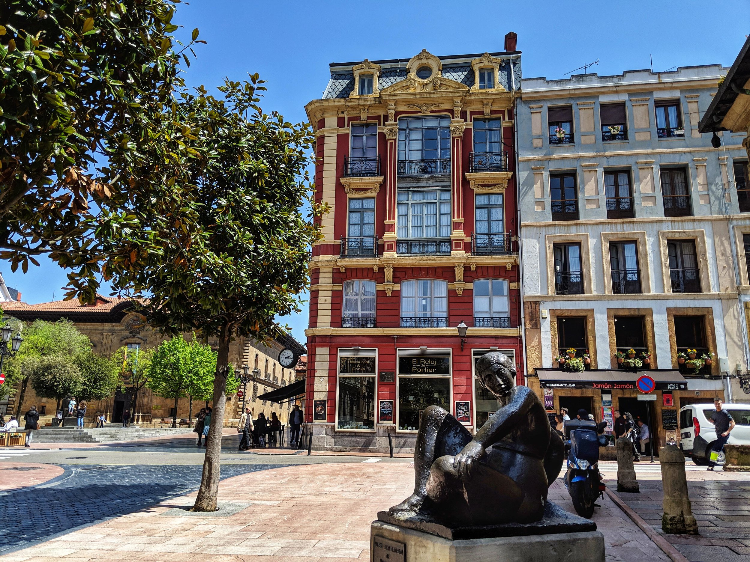Beautiful Architecture in Oviedo
