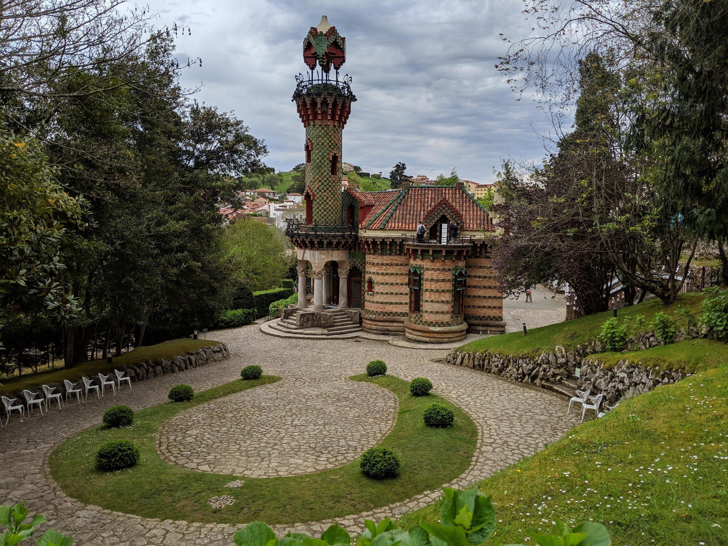 The precious El capricho de Gaudi