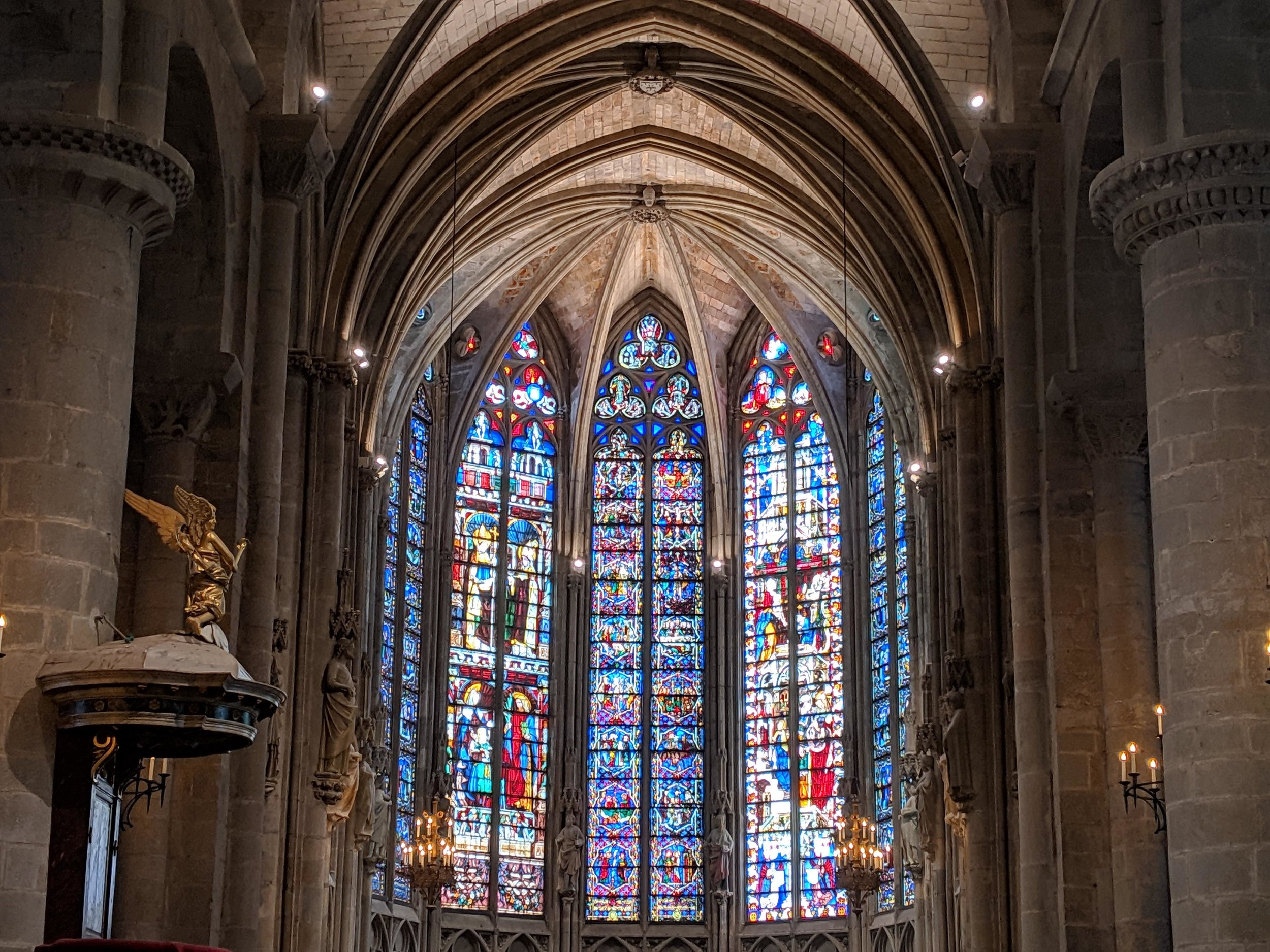 Beautiful Cathedral at Carcassonne