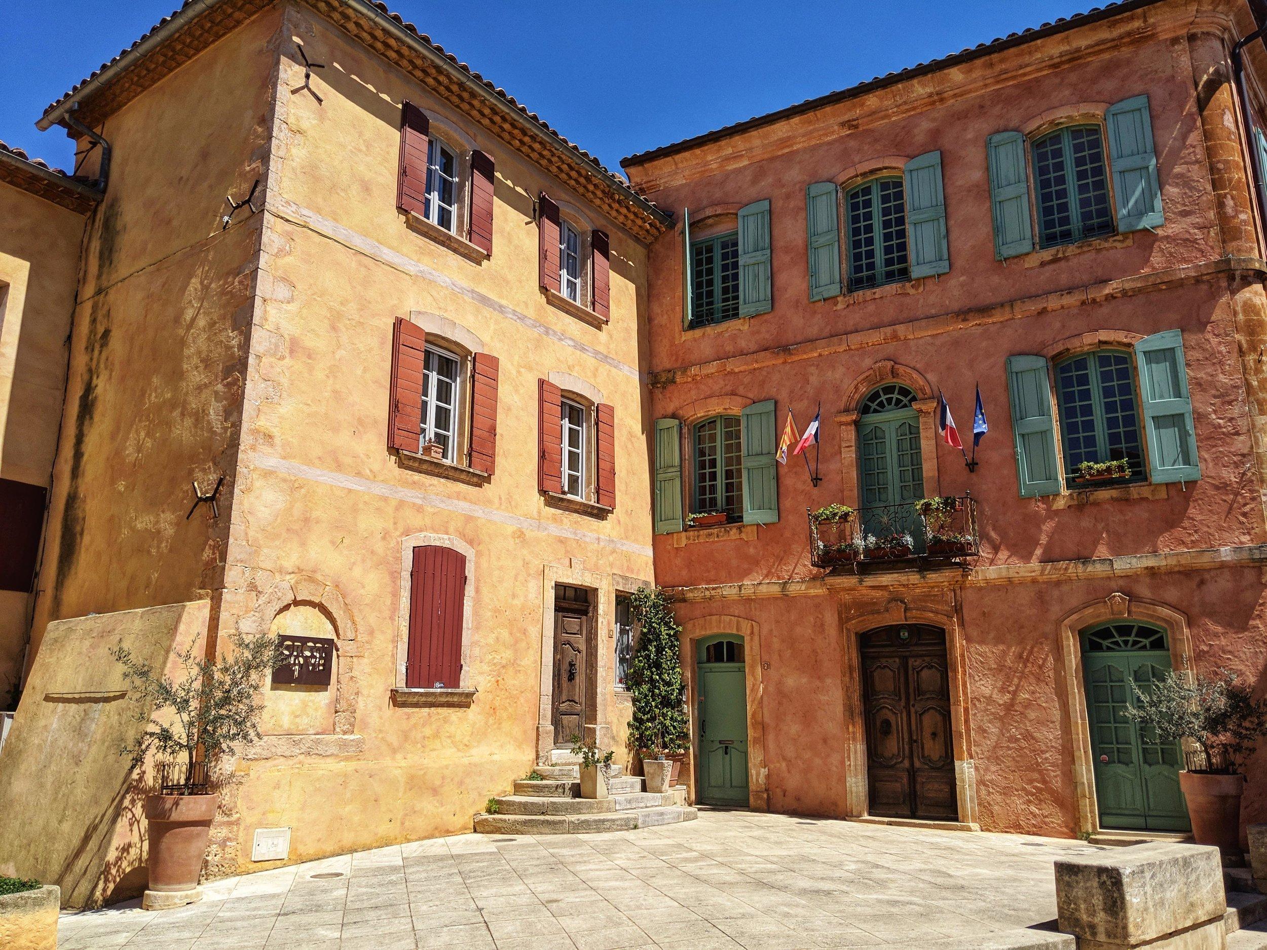 Ochre houses of Roussillon