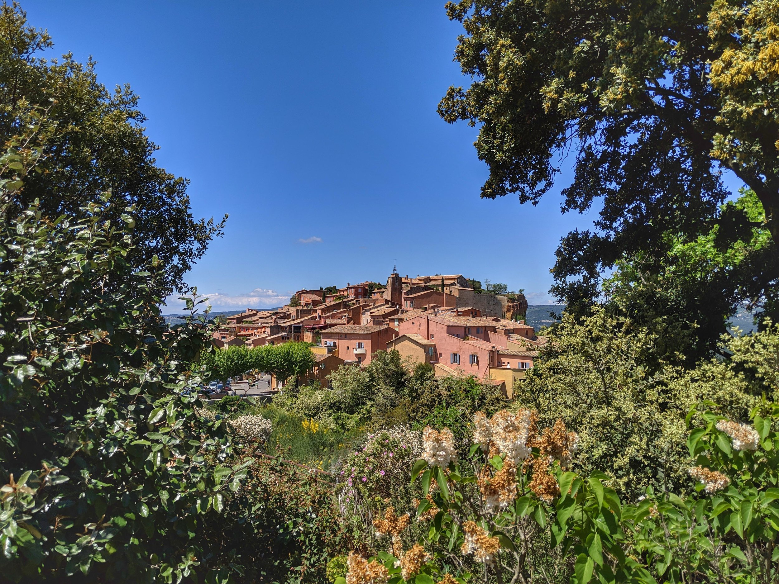 Roussillon, is distinct from the other Provence town.