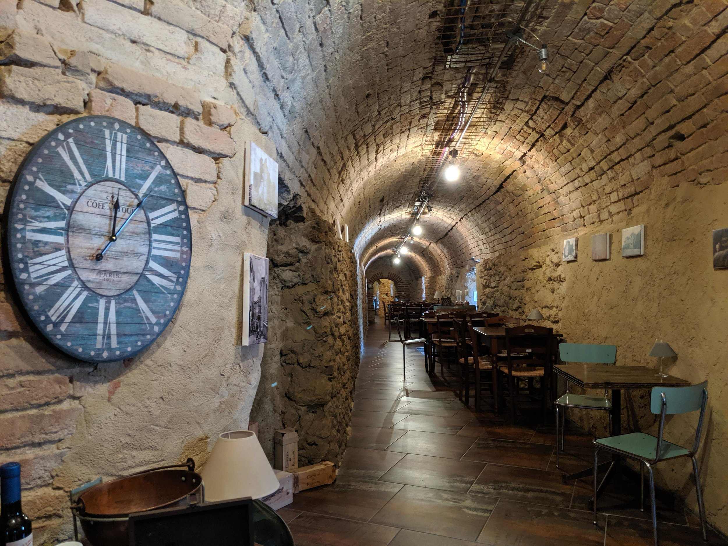 And cosy places to taste wine