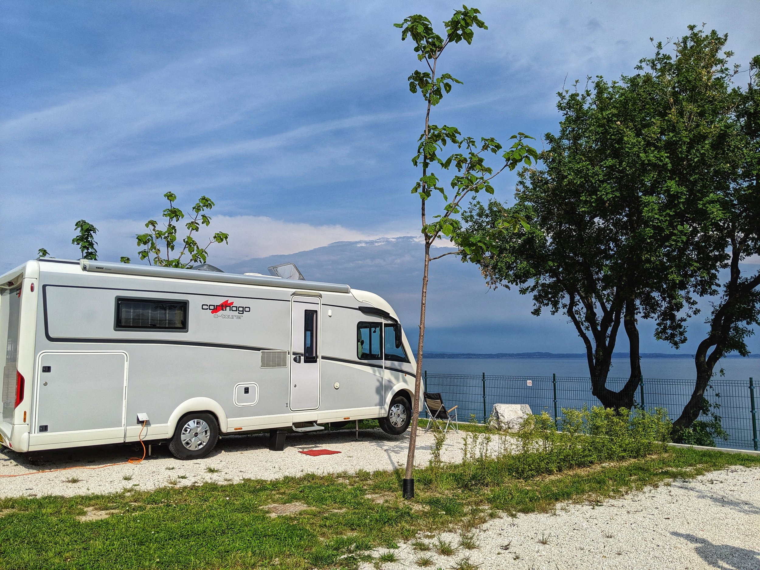 Another gorgeous lakeside location over Lake Garda