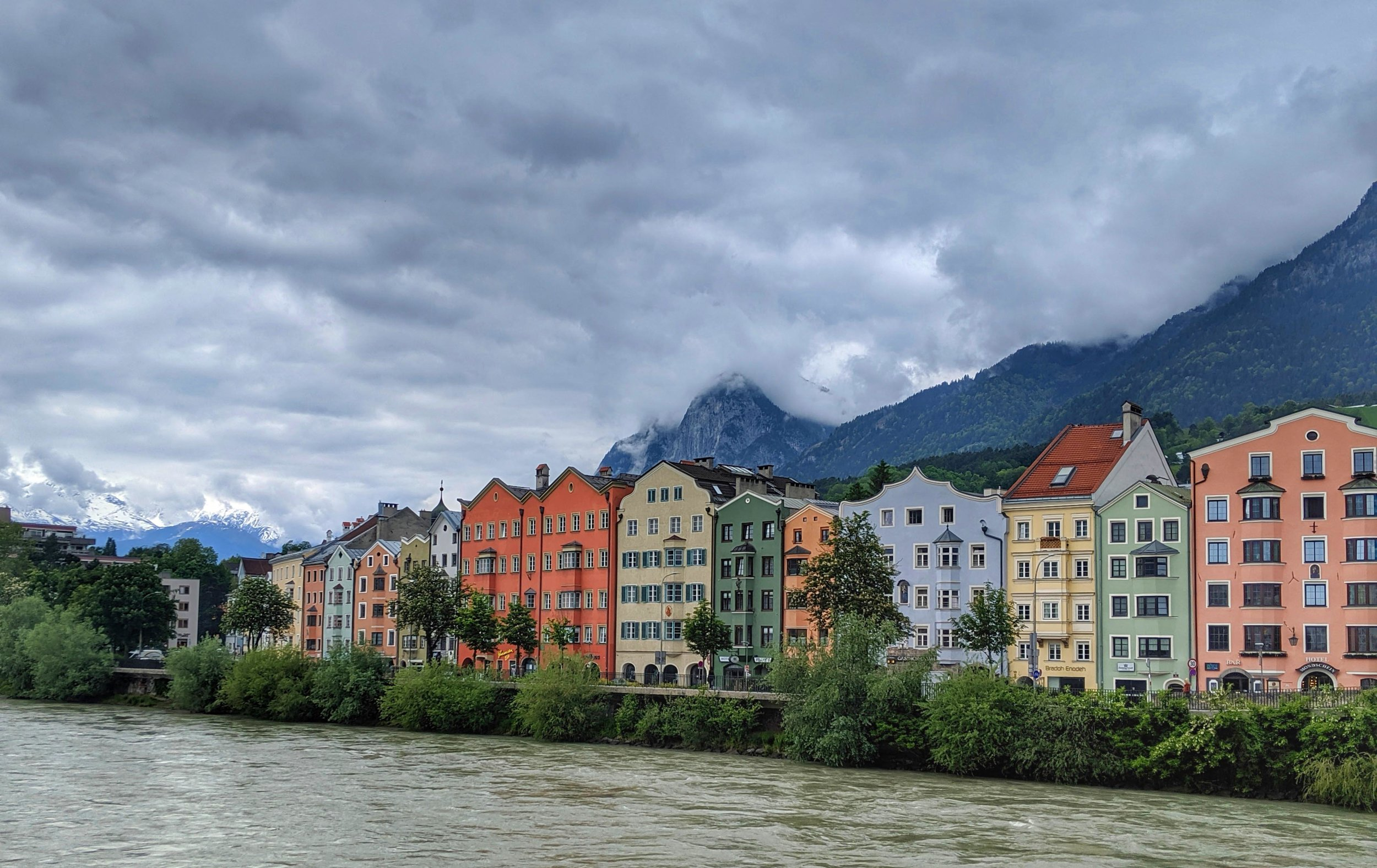 Colorful and Cloudy Innsbruck
