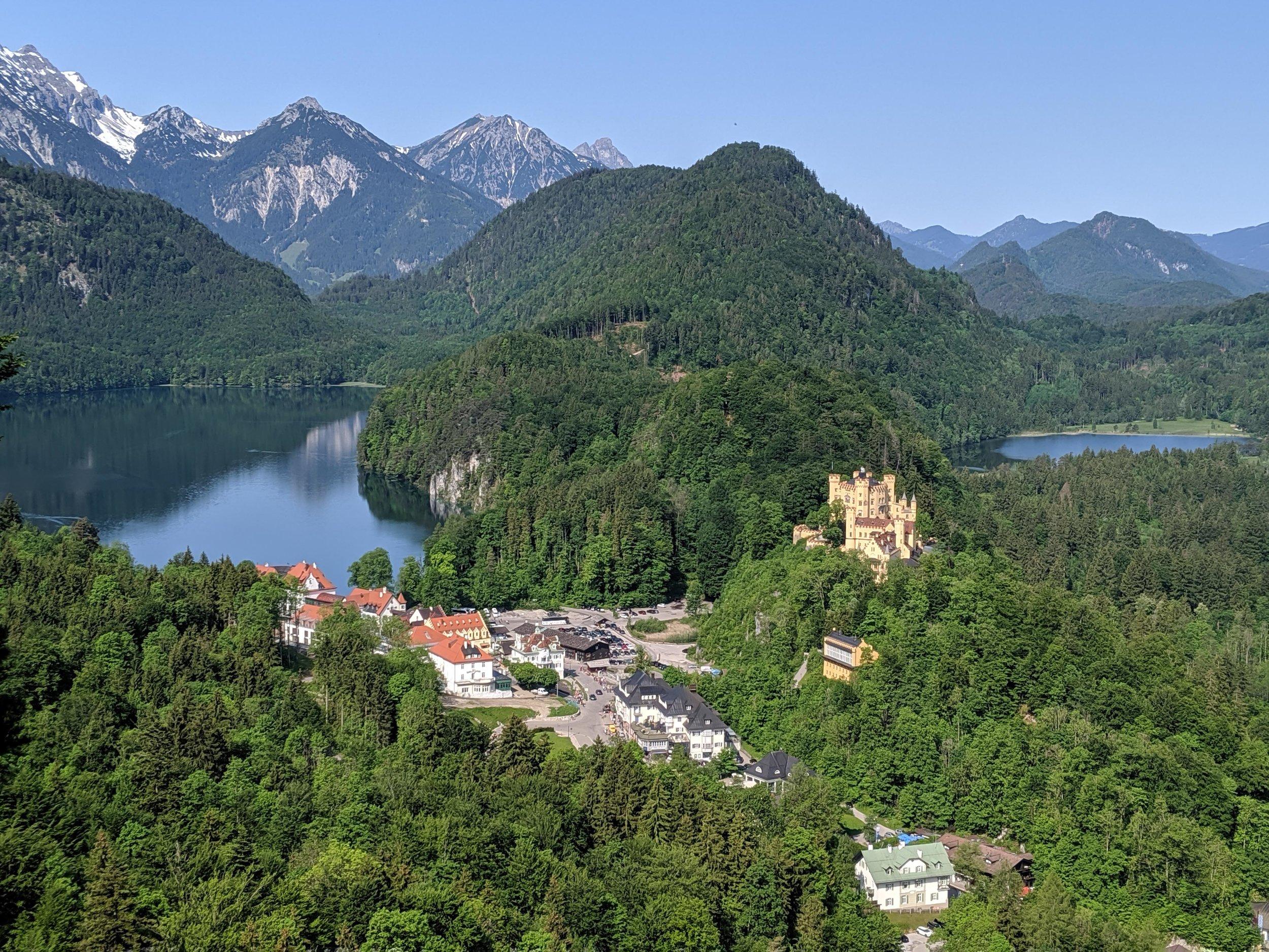 Views from Neuschwanstein