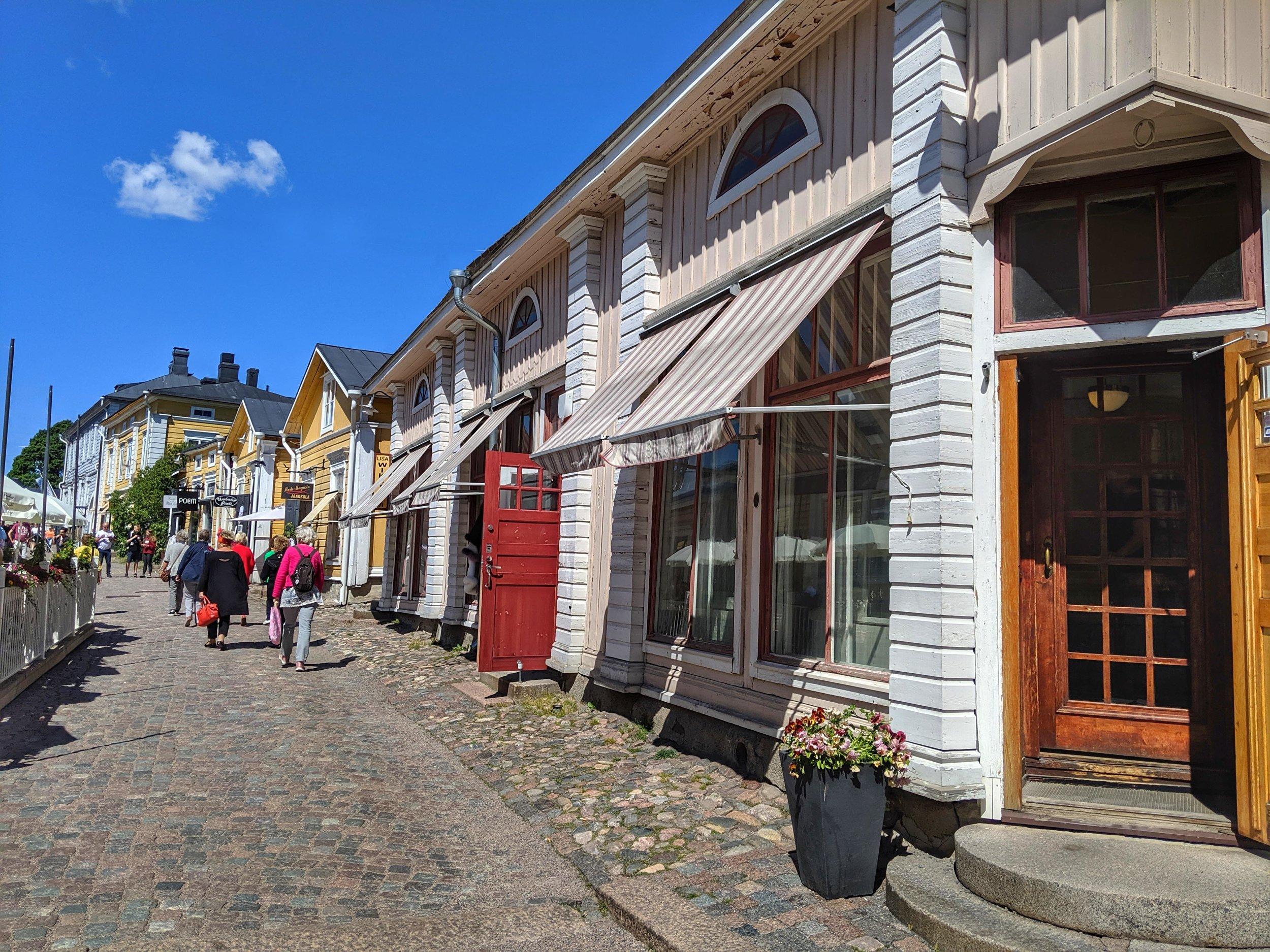 Pretty Streets of Porvoo