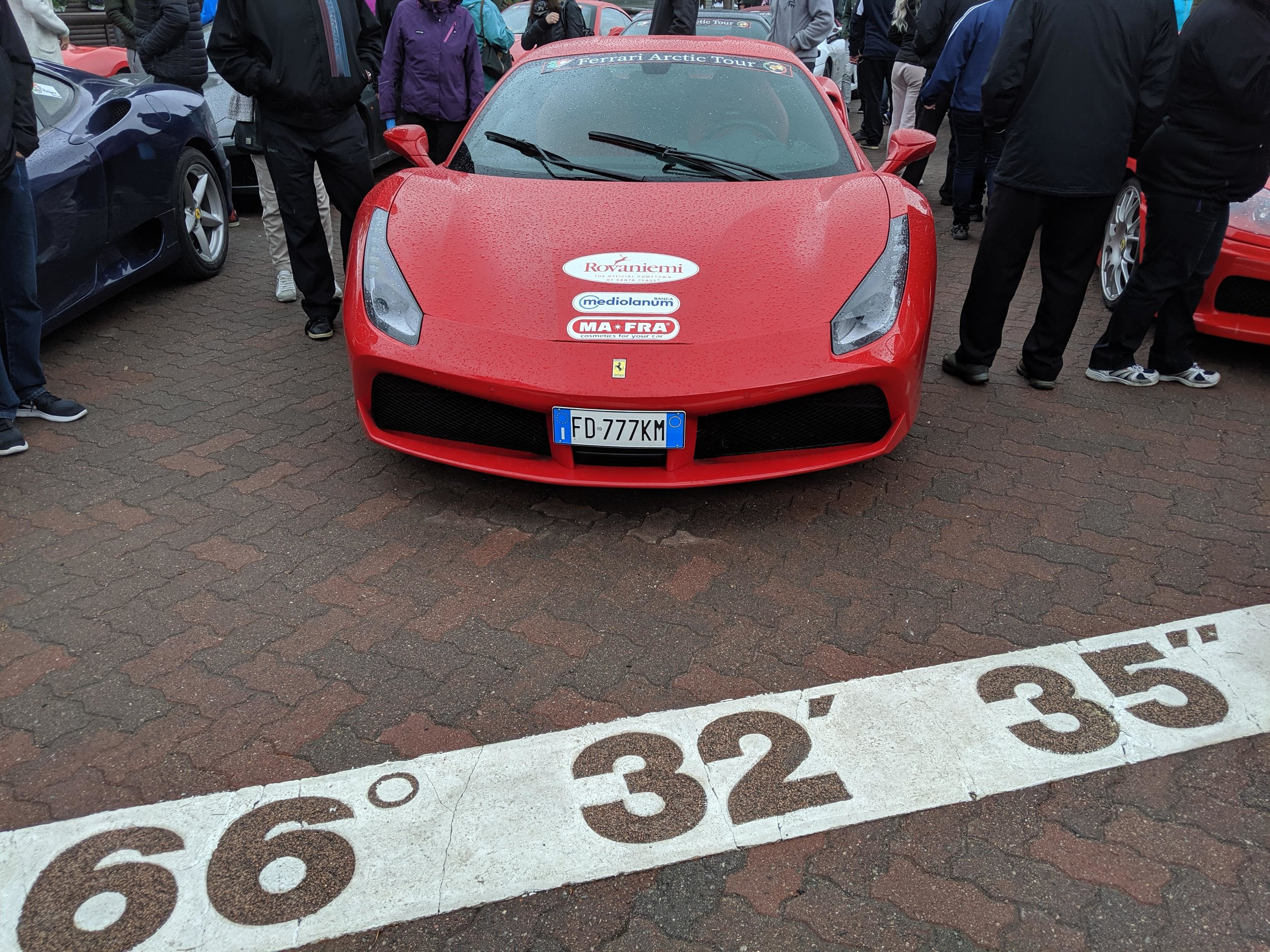 Ferraris at the Arctic Circle