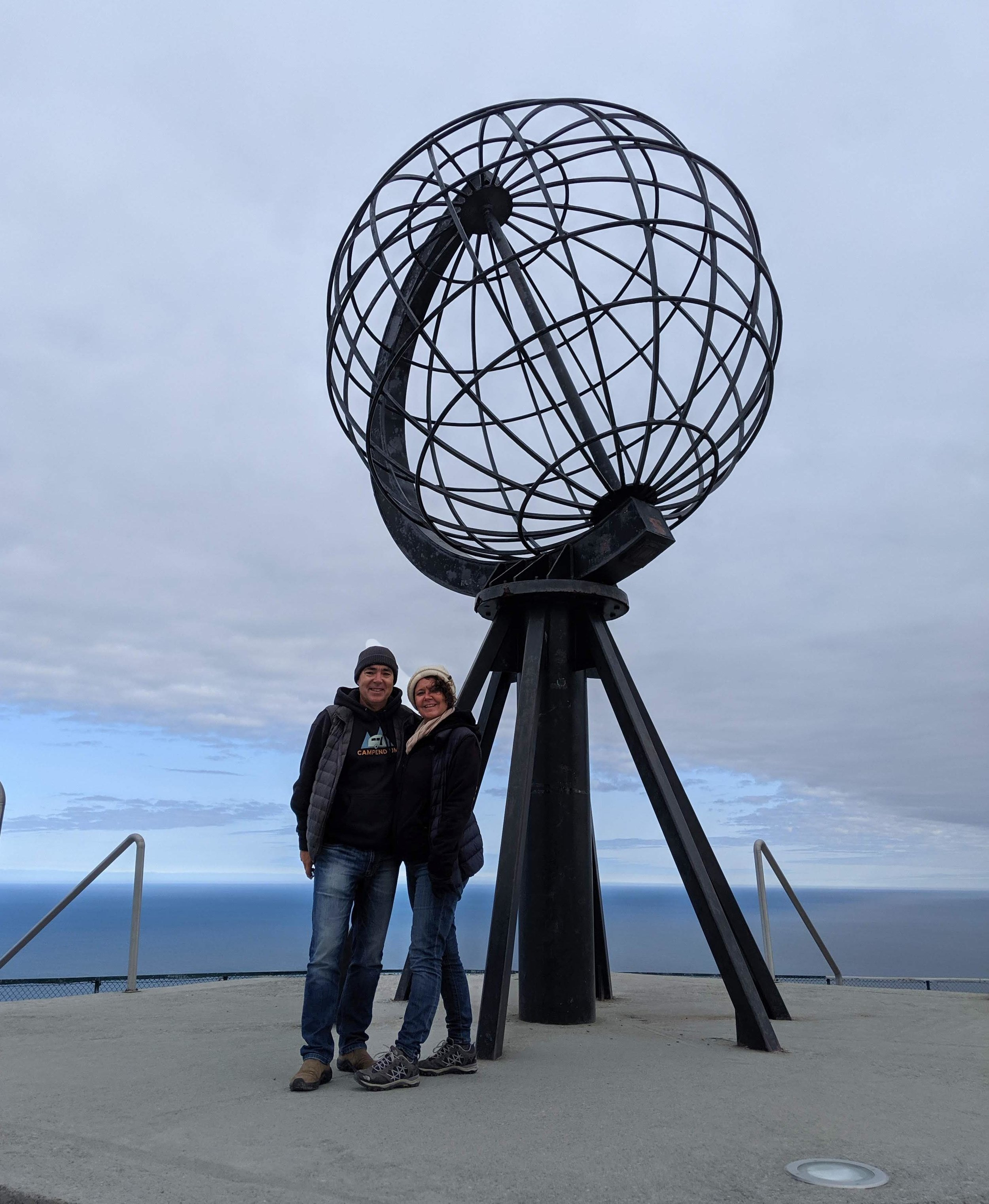 The typical Nordkapp Pose