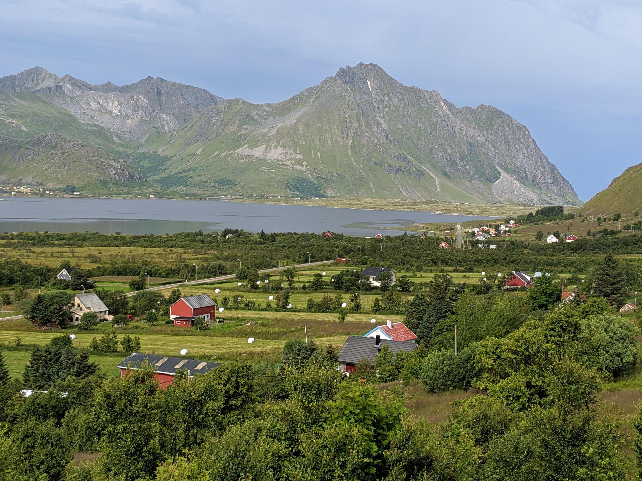 Typical Lofoten Island vistas