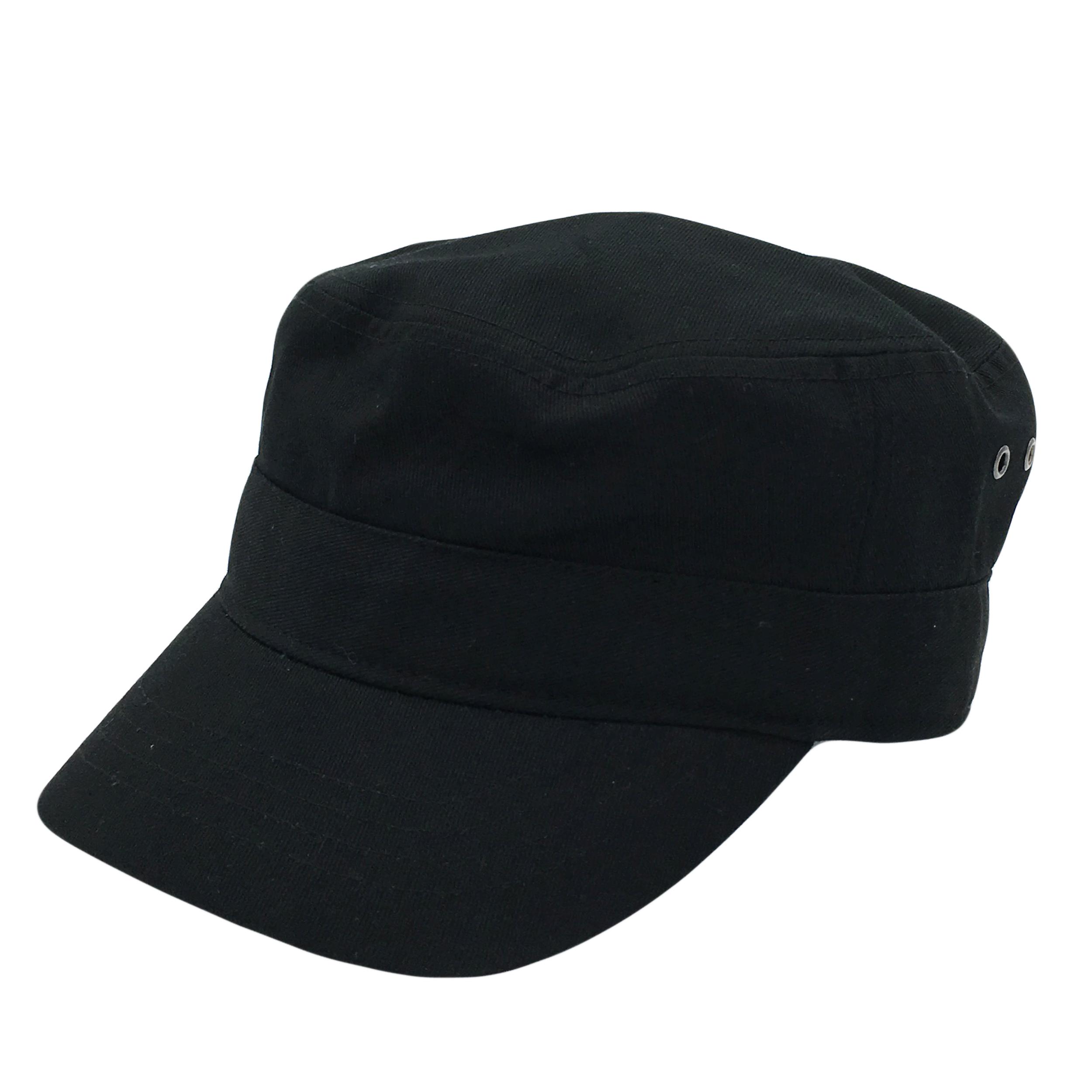 Custom Premium Black Army Hat