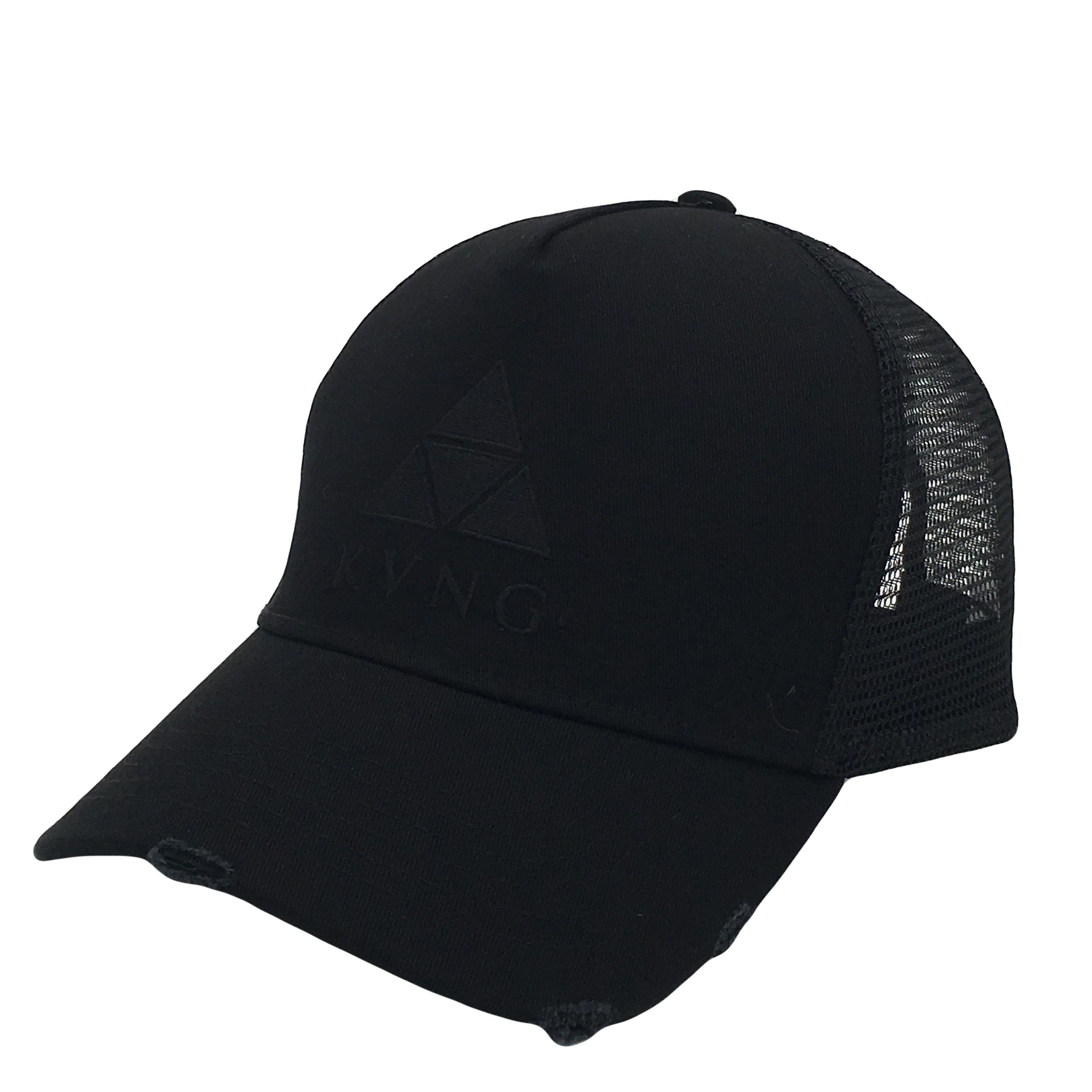 Premium Brand Washed 5 Panel Trucker Hat