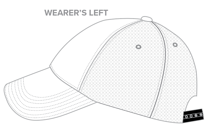Trucker Cap Templates - 6-Panel Trucker Hats