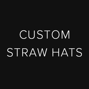 Copy of custom straw hats
