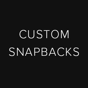 custom snapback caps