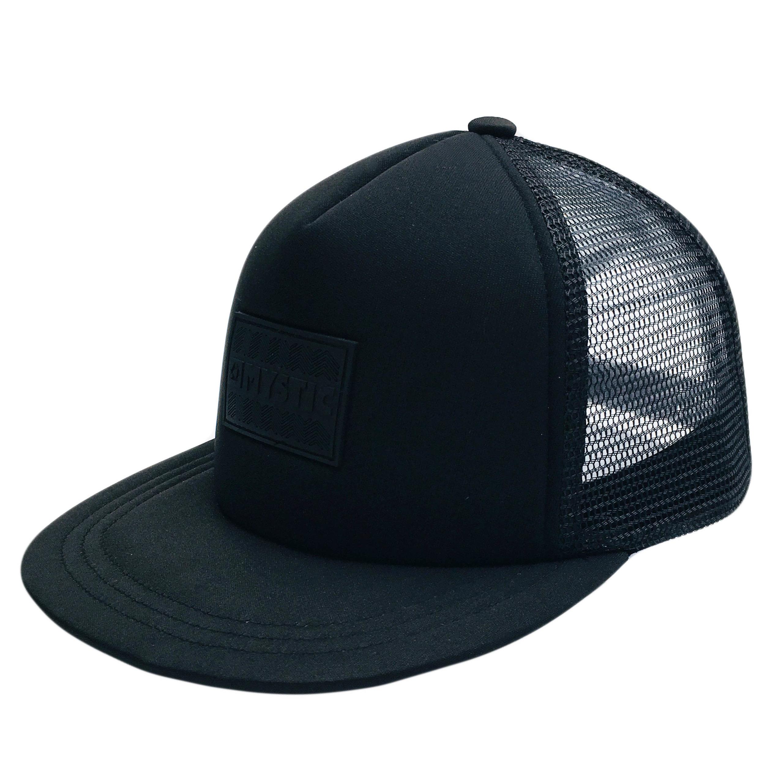 Custom Plastic Patch 5 Panel Trucker Hat