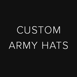 custom army caps