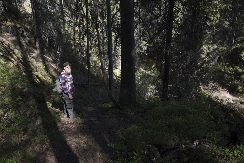 hiking trips north karelia