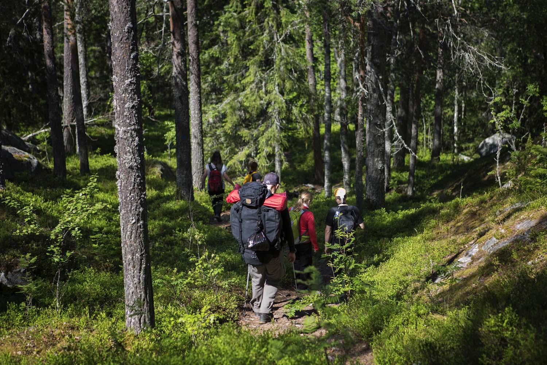 trekking finland