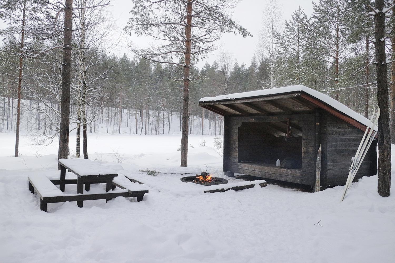 laavu pohjois-karjala