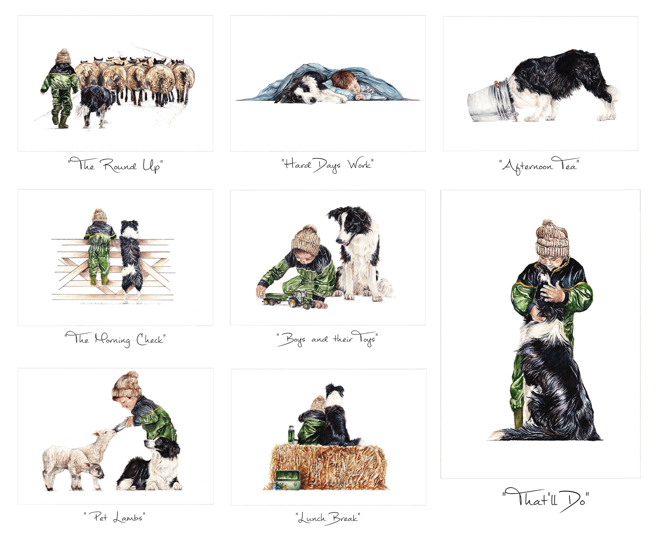 """Child & Collie"" Collection"