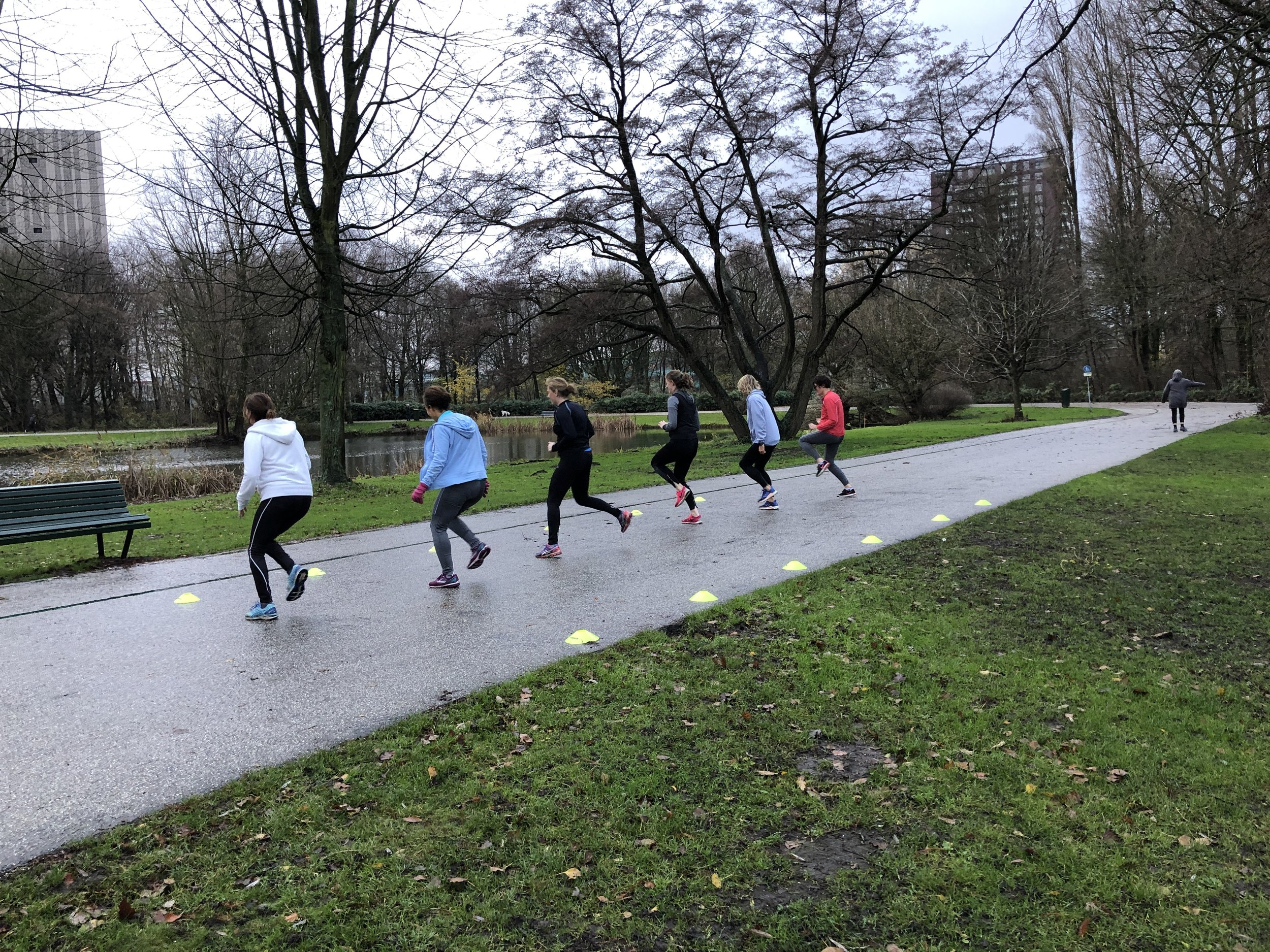 Flevopark - Saturdays 9:00am - 10:00amAdvanced Training Only. FULL.Saturdays 10:00am - 11:00amClass will start once there are 5 or more participants. Send an email to be added to waiting list.