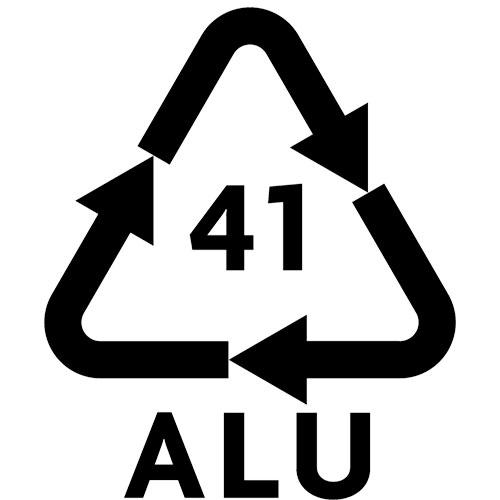 aluminium recycling marking