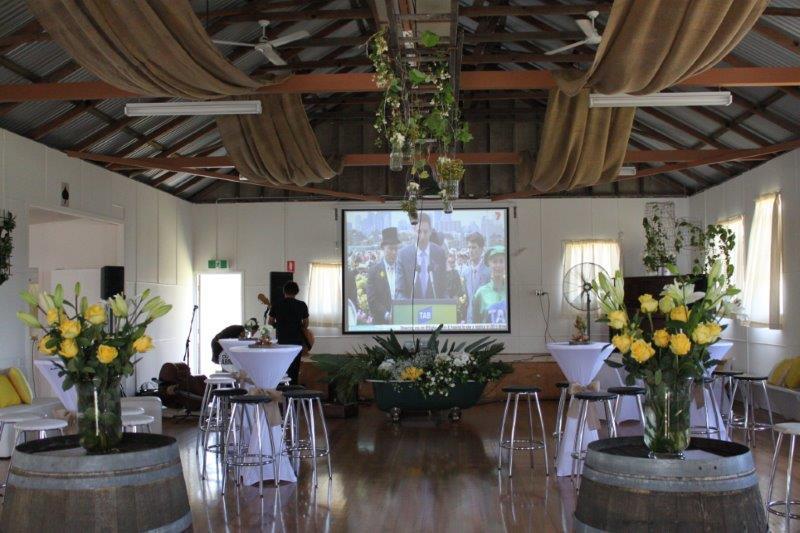 Wedding Decorated inside