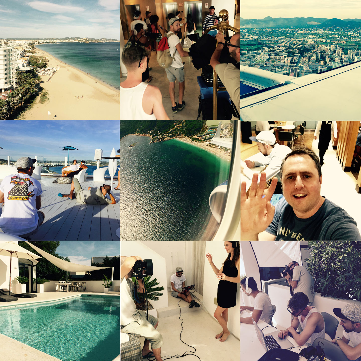WHAT WE GOT UP TO IN IBIZA