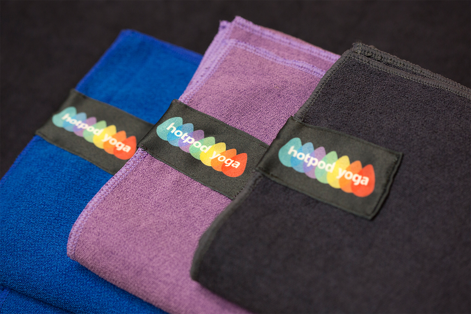 Hotpod Yoga towels.