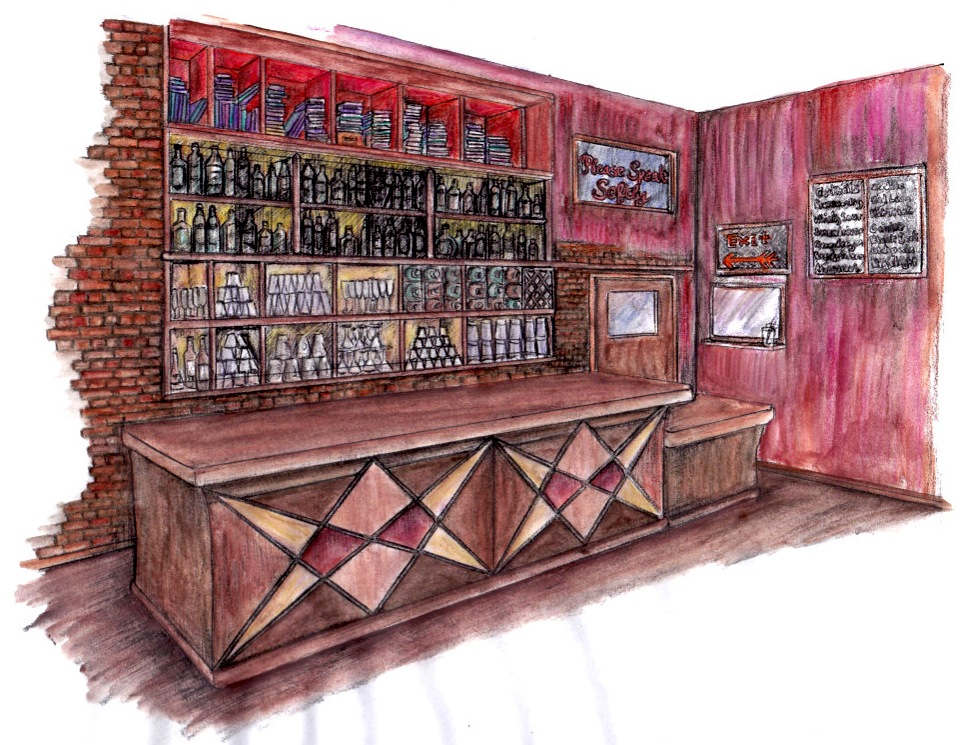 Bar Design - Concepts and Sketchup Models