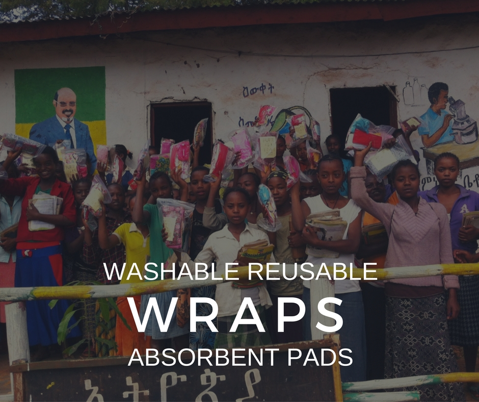 WRAPS  - Washable, Reusable, Absorbant Pads