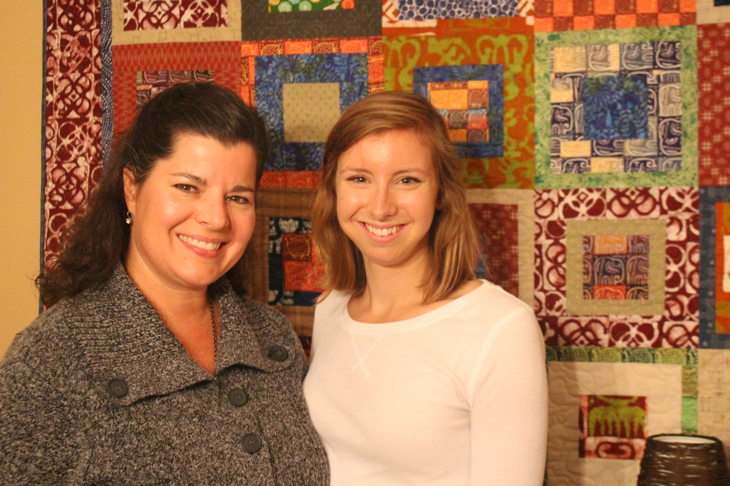 Shelley Green (Founder of MWAHFE)with Brittany Campbell