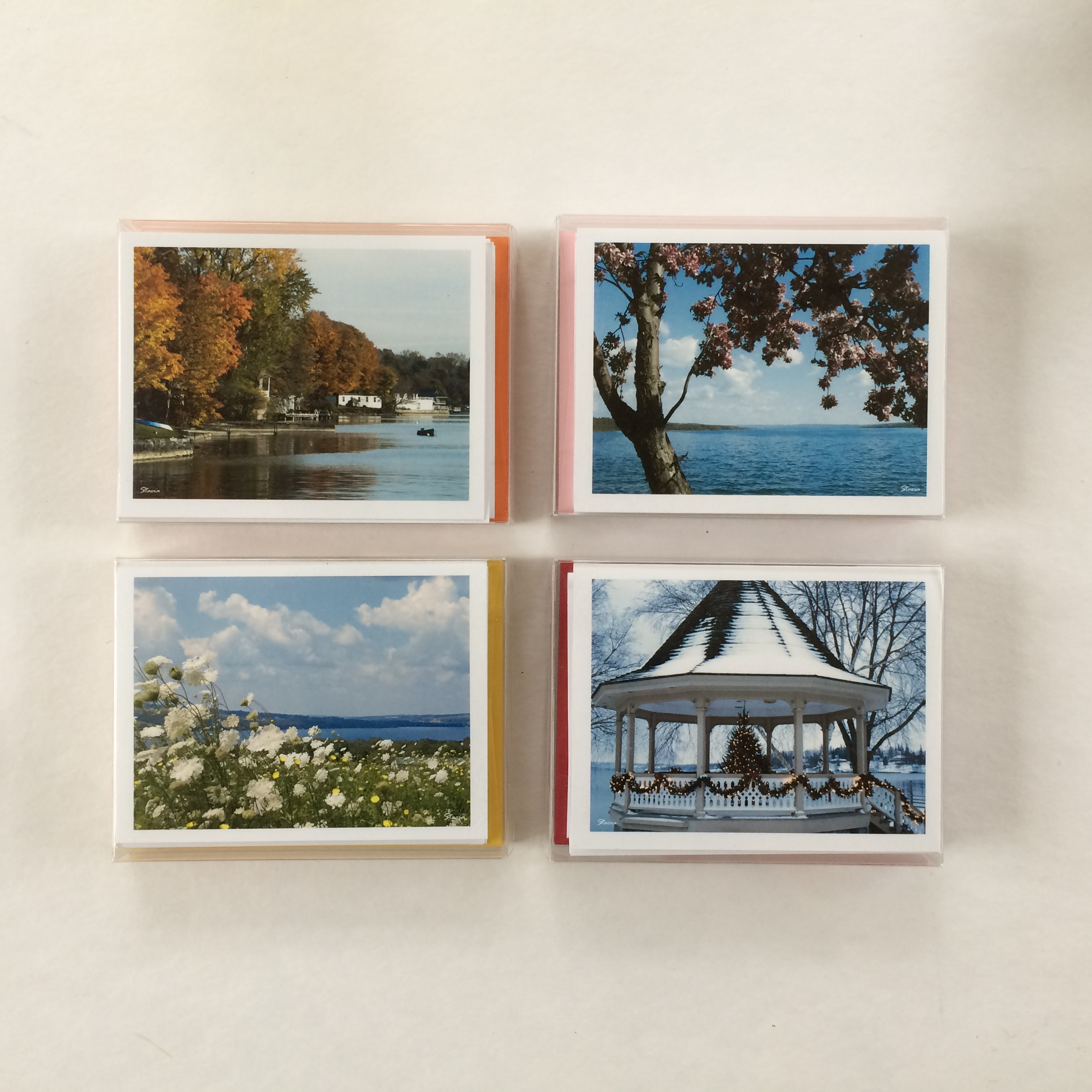 Seasons Boxed Notecards