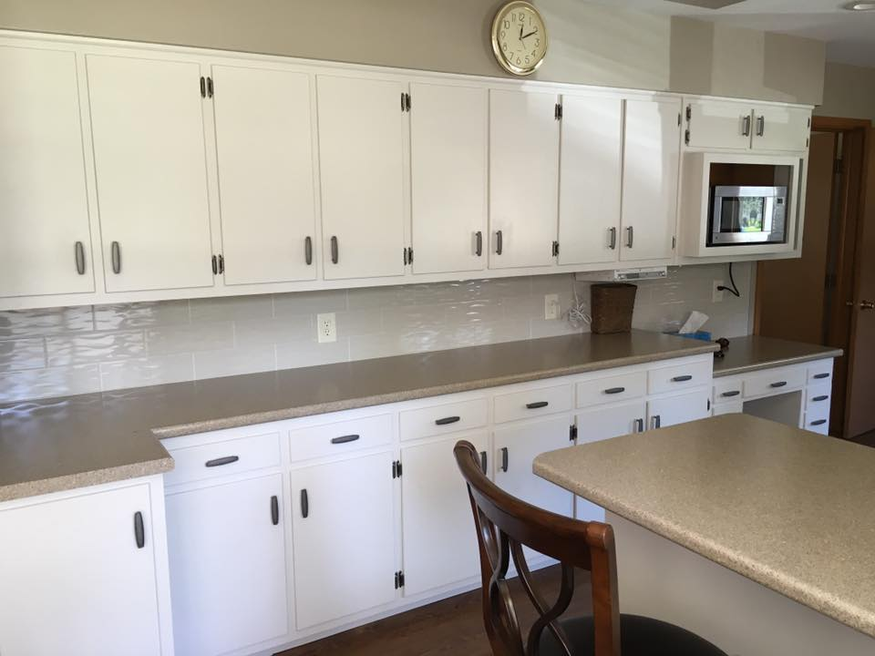 Another kitchen updated for a fraction of the cost of new cabinets