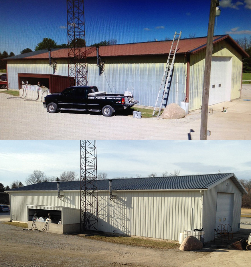 Exterior Commercial Before and After