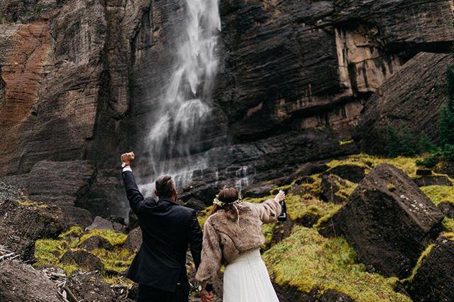 Post elopement celebration. Link in profile.