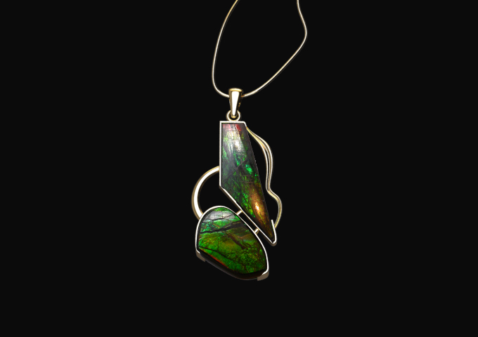 Client's Ammolite bought from a cruise ship