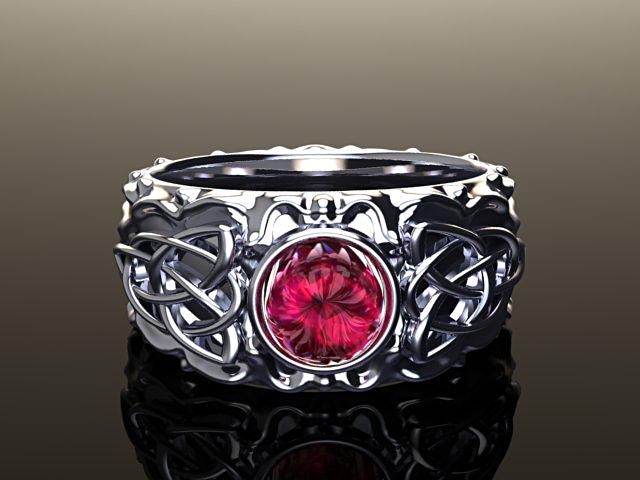 Medieval ruby ring