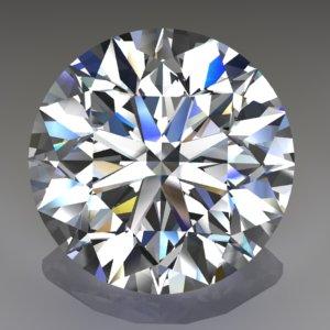 Round full cut diamond
