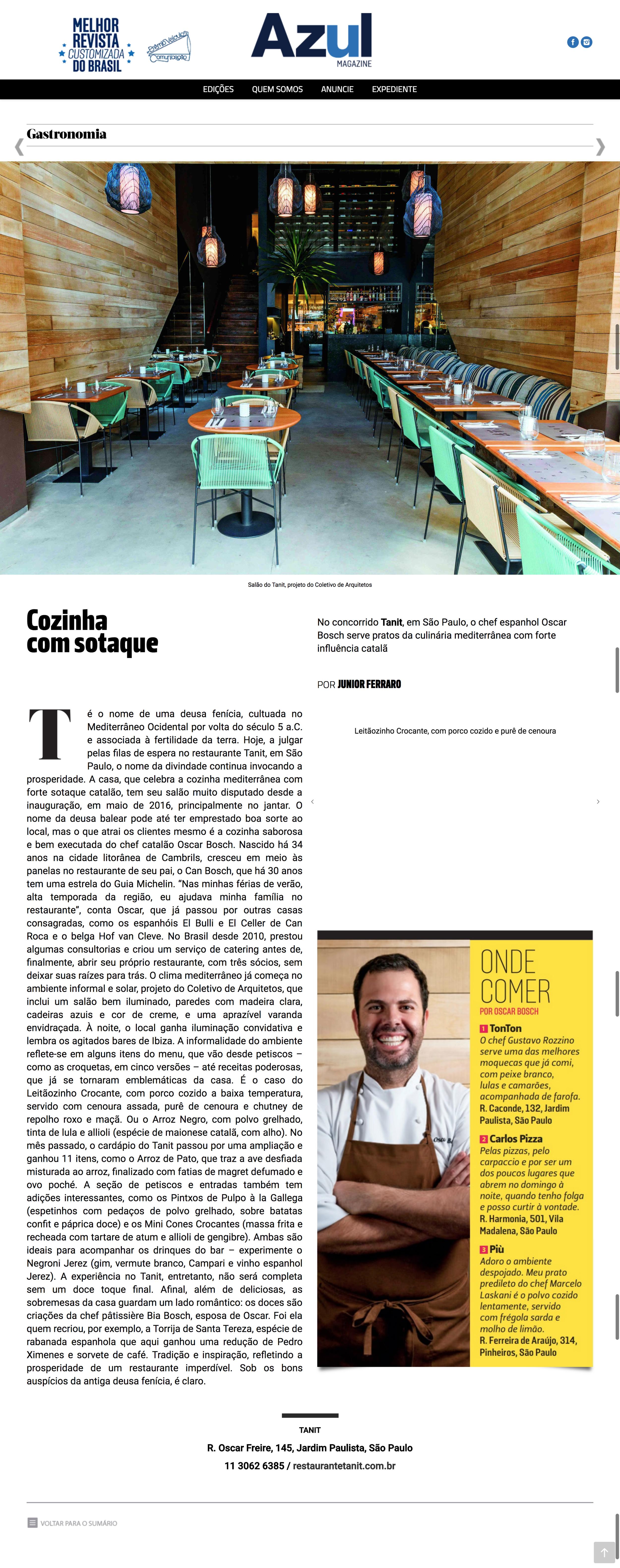 Revista da Azul - Abril/2017