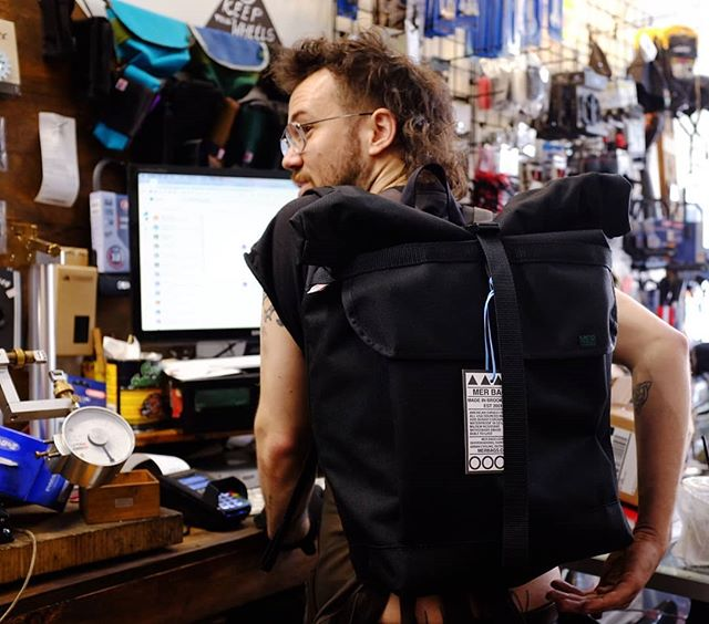 @merbagsusa are here! We have one rolltop pack and some drink holders, phone pouches and hip pouches in stock. 🎒 . . . . . . #mer #merbags #madeinbrooklyn #madeinusa #messengerbag #messlife #phoneholster #drinkholder #hippouch #bikelife #bikeshop #bikemechanic #bikenyc #bikebrooklyn #bushwick #brooklyn #nyc #havencycles #neverestablished