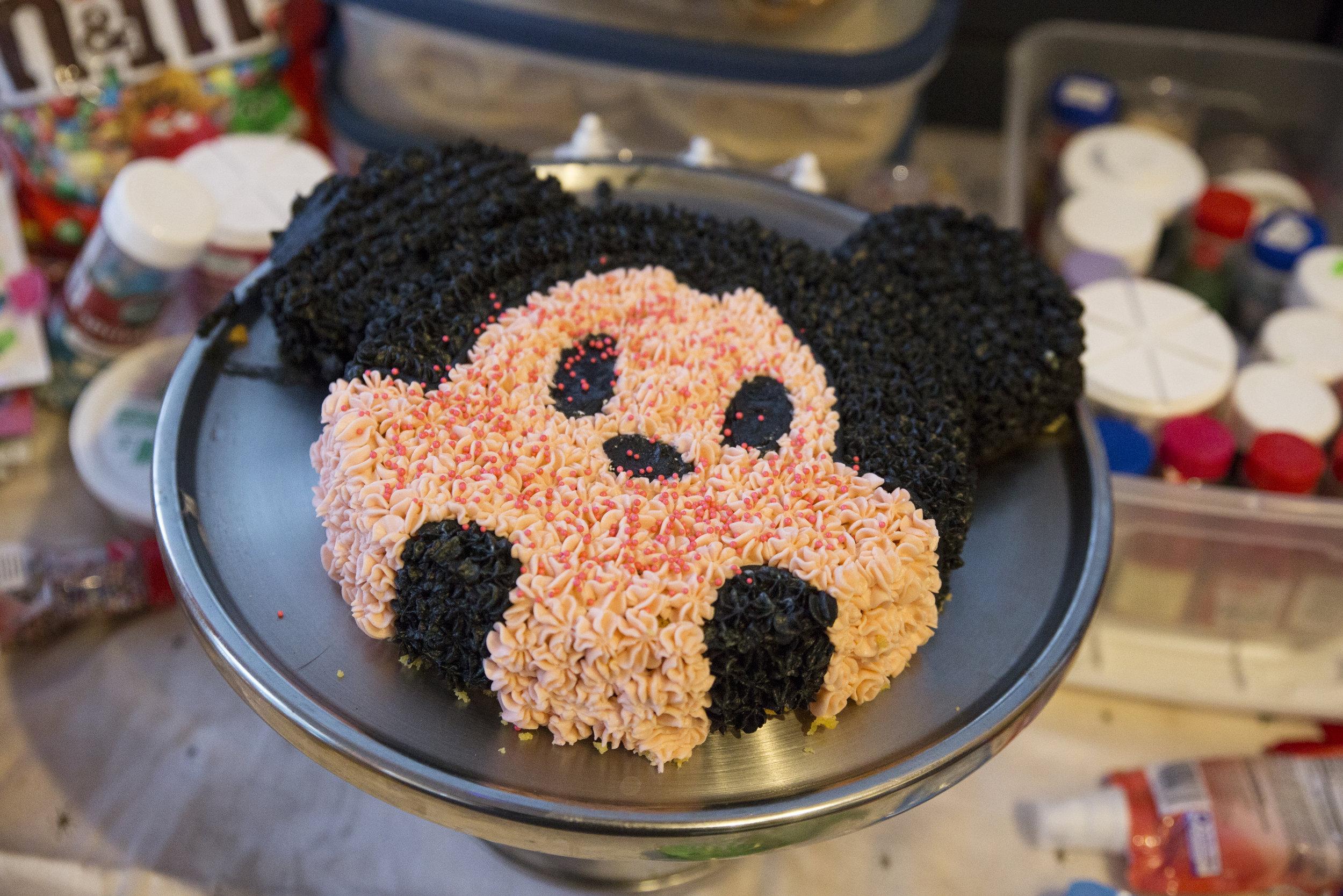 Cake by Gayle Ringrose. Sprinkles by Emmalynn