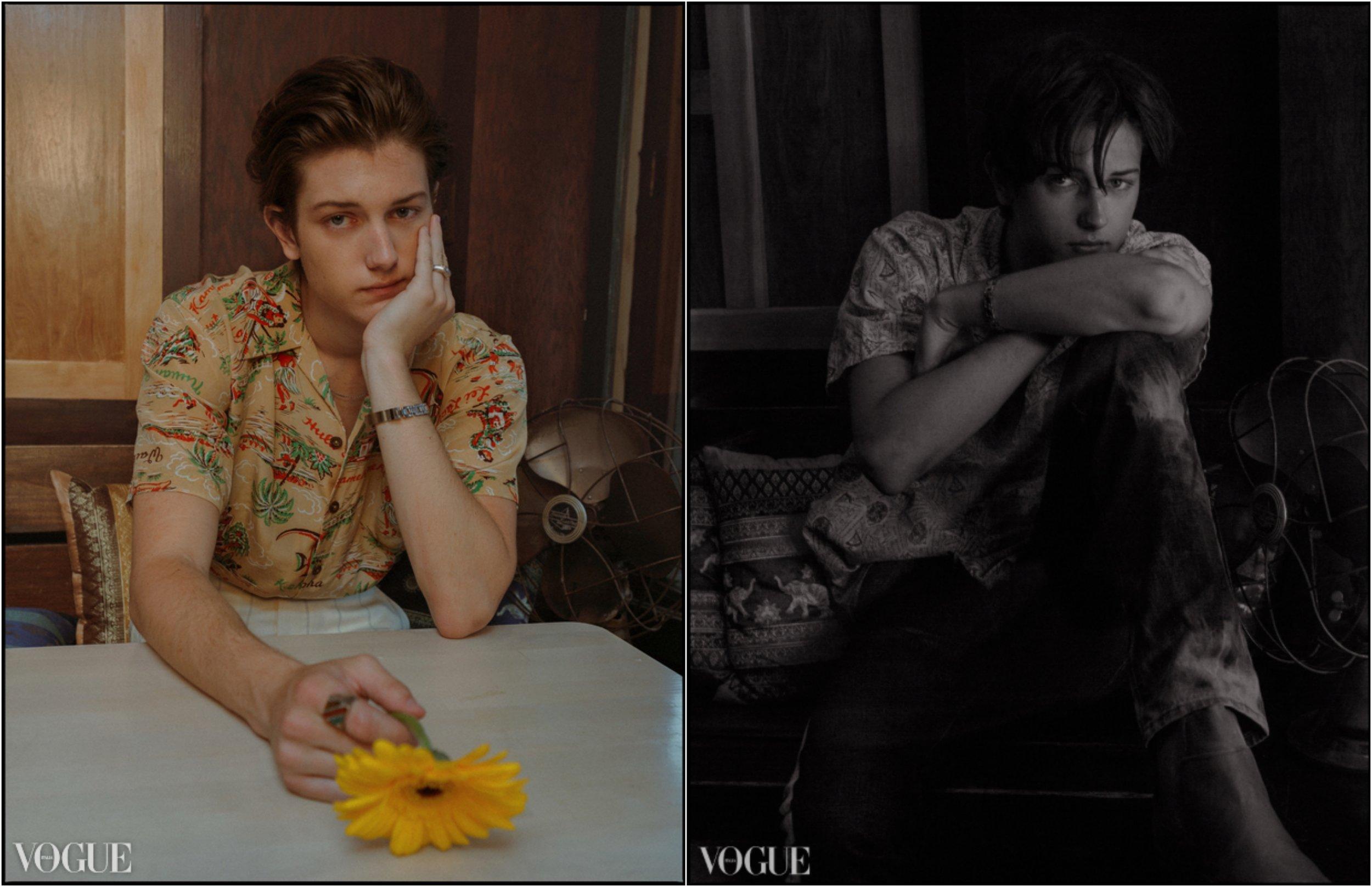 Vogue.it - Sam Evans